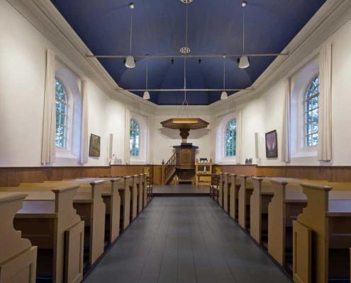 Lichtplan kerk