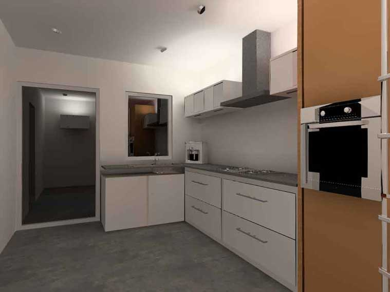 keuken met indirect licht