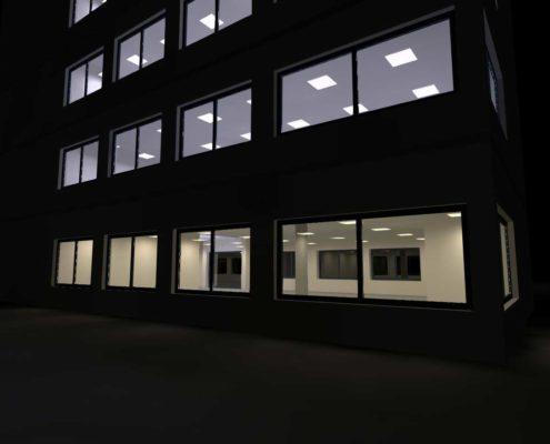 LichtSinnich-Dialux-Evo-kantoorpand-2